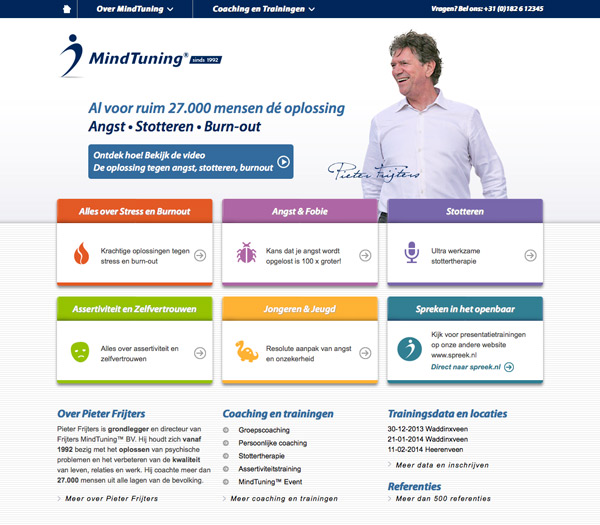 MindTuning website